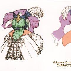 Fiona's dress design.