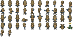 FF6 iOS Biggs and Wedge Sprites