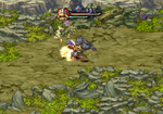 Legend of Mana Chocobo Kick