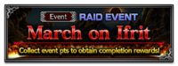 FFBE Event- March on Ifrit