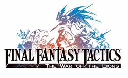 Final Fantasy Tactics Lion War logo