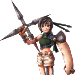 Yuffie full art finished.