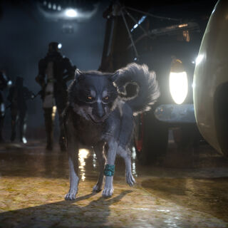 A screenshot of Umbra from <i>Final Fantasy XV</i>.