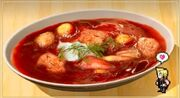 Meat-and-Beet Bouillon