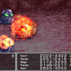 Pyroblast <i>Final Fantasy IV</i> (PSP).