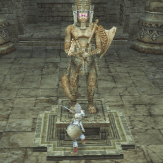 The Japanese dungeon image for <i>Stilshrine of Miriam, Part 2</i> in <i>Final Fantasy Record Keeper</i>.