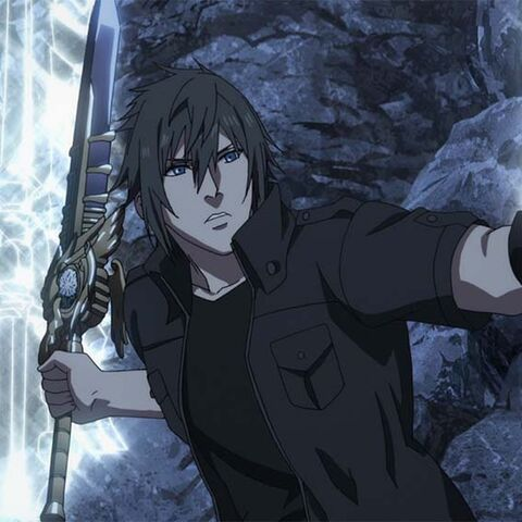 Noctis using Armiger in <i><a href=