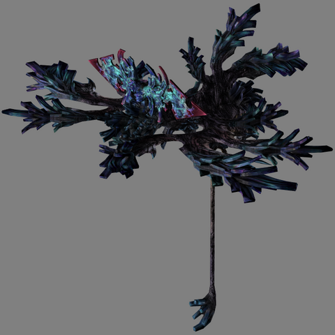 Ereshkigal's dummied model from <i>Final Fantasy XIII</i>.