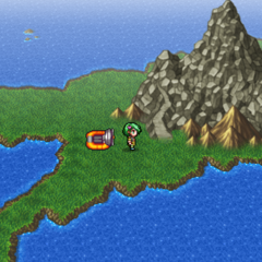 Mount Hobs on the world map (PSP).