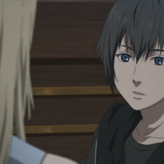 Noctis talking to Luna.