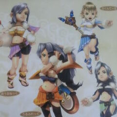 <i>Final Fantasy Crystal Chronicles</i>.