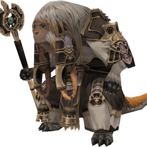 <i>Final Fantasy XII</i> character model.