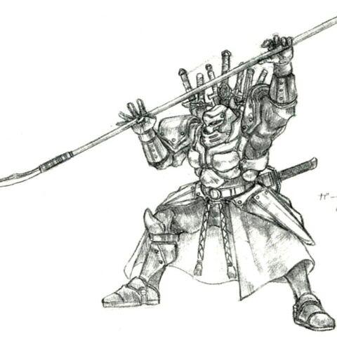 Tetsuya Nomura artwork.