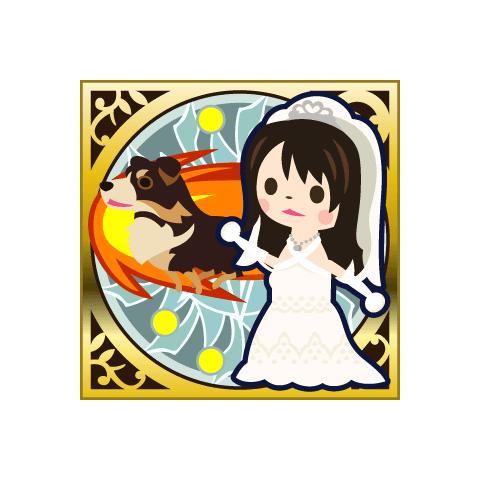 Rinoa's wedding dress.