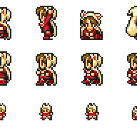 Set of Devout's sprites.