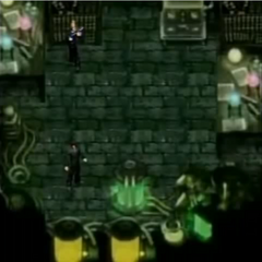 The laboratory in <i>Before Crisis -Final Fantasy VII-</i>.