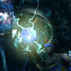 Wakka uses Elemental Reels Overdrive.