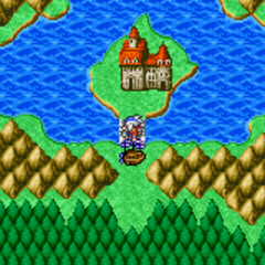 Kashuan Keep on the World Map (GBA).