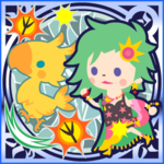 FFAB Chocobo Kick (Summon Chocobo) - Rydia Legend SSR+