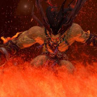 Ifrit in <i>Dissidia Final Fantasy</i>.