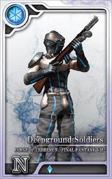 DoCFF7 Deepground Soldiers I Artniks
