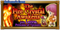 FFRK The Fire Crystal Awakens Event