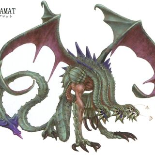 Tiamat in <i>Final Fantasy IX</i>.