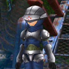 An avatar dressed as a <a href=