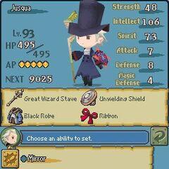 Ability menu in <i><a href=
