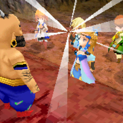 Mythril Ring in <i>Final Fantasy III</i> (DS).
