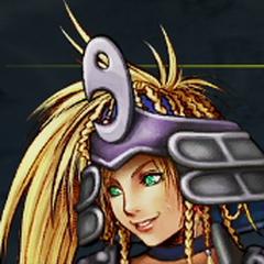 Rikku's Samurai portrait.