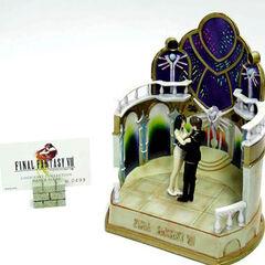<i>Final Fantasy</i> Cold Cast Collection statue.