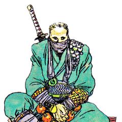 Nintendo Power artwork of Edge by Katsuya Terada.