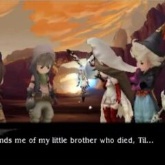 Tiz reminisces on how Egil reminds him of Til.