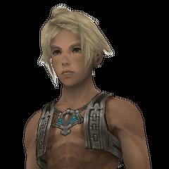 Vaan's character model.