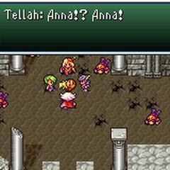 Anna's death in Damcyan (GBA).