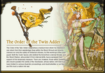 Twin Adder Banner + Art