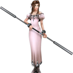 <i>Amano</i> outfit render from <i>Dissidia 012</i>.