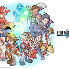 Casts of the original <i>Final Fantasy</i> and <i>Final Fantasy II</i>.