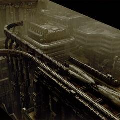 Railway concept art.
