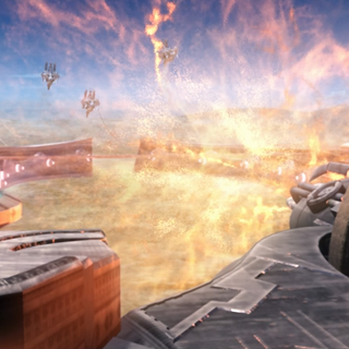Sky Fortress <i>Bahamut'</i>s Mist cannon.