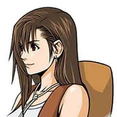 Tifa's portrait in <i>Before Crisis -Final Fantasy VII-</i>.