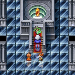 Rydia found in the crystal room in the Sealed Cave in <i><a href=