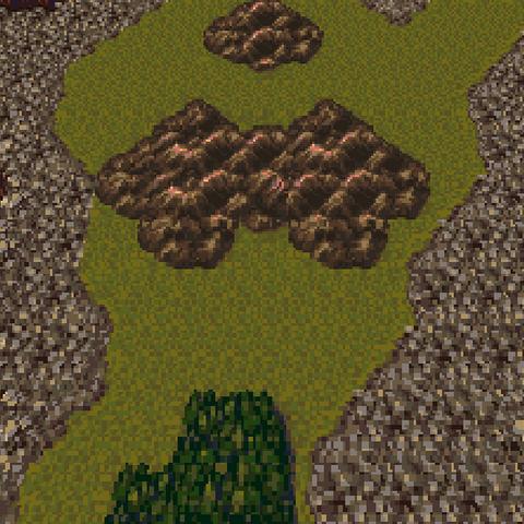 Triangle Island in the World of Ruin (SNES).