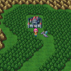 The Castle of Tycoon on Bartz's World Overworld.