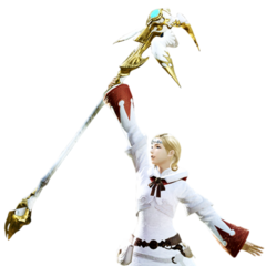 White Mage in <i>Final Fantasy XIV: A Realm Reborn</i>.