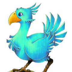 Blue Chocobo.