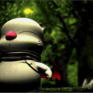 Moogles in the intro FMV for the <i>Anthology</i> version.