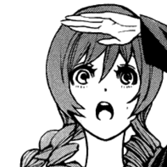 Cinque in the manga.