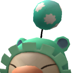Model of the moogle of Class Twelfth.